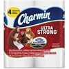 Charmin Ultra Strong Bath Tissue - 2 Ply - 77 Sheets/Roll - White - Durable, Anti-septic - For Bathroom - 96 / Carton