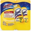 Lysol Disinfecting Wipes - Wipe - Lemon Lime ScentCanister - 160 / Pack - White