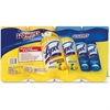 Lysol 4-Pack Disinfecting Wipes - Wipe - Lemon Lime ScentCanister - 320 / Pack - White