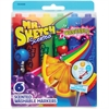 Mr. Sketch 6-count Scented Markers - Chisel Point Style - Blue, Green, Orange, Purple, Red, Yellow - 6 / Set