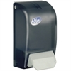 Dial Professional Foam Hand Soap Dispenser - Manual - 33.8 fl oz (1000 mL) - Black