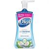 Dial Coconut Water Antibacterial Foaming Hand Wash - 7.5 fl oz (221.8 mL) - Pump Bottle Dispenser - Hand - Blue - Moisturizing, Hypoallergenic, Anti-bacterial - 8 / Carton