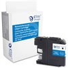 Elite Image Remanufactured Ink Cartridge - Alternative for Brother (LC107BK) - Black - Inkjet - 1200 Page - 1 Each