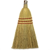 Genuine Joe Whisk Broom - 12 / Carton - Natural