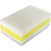 Genuine Joe Chemical-free Sponge - 30/Carton - Cellulose - White, Yellow