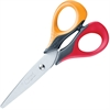 "Helix Ergo Handle 5"" Scissors - 5"" Overall Length - Stainless Steel - Assorted"