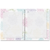 House of Doolittle Whimsical Floral Doodle Notebook - Paper - Hard Cover, Writable Surface, Foldable