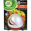 Airwick Aroma Sphere Air Freshener - 2.5 fl oz (0.1 quart) - Hawaii Orange - 3 / Carton - Long Lasting
