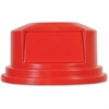 Rubbermaid Commercial 2655 Brute Container Dome Top - Dome - Plastic - 1 CartonRed