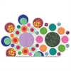 """Roylco Paper Circle Popz - 1500 Piece(s) - 2"""" - 24 / Pack - Assorted - Paper"""