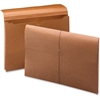 "Smead 100 Pct Recycled Redrope Wallet - Legal - 8 1/2"" x 14"" Sheet Size - 2"" Expansion - Stock, Tyvek - Redrope - Recycled - 10 / Box"