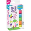 The Pencil Grip Kwik Stix Tempera Paint Neon Sticks - 6 / Each - Neon Green, Neon Yellow, Neon Orange, Neon Pink, Neon Purple, Neon Blue