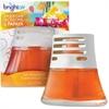 Bright Air Scented Oil Air Freshener - Oil - Hawaiian Blossom, Papaya - 45 Day - 6 / Carton - Long Lasting