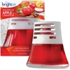 Bright Air Scented Oil Air Freshener - Oil - Macintosh Apple, Cinnamon - 45 Day - 6 / Carton - Long Lasting