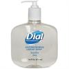 Dial Sensitive Skin Antimicrobial Liquid Soap - 16 fl oz (473.2 mL) - Kill Germs - Skin, Hand - Clear - Anti-bacterial, Antimicrobial - 1 Each