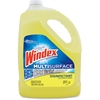 Windex Multisurface Disinfectant - 1 gal (128 fl oz) - Citrus ScentBottle - 1 Each - Yellow