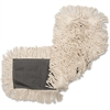 "Genuine Joe Disposable Cotton Dust Mop Refill - 5"" Width - Cotton, Synthetic"