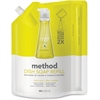 Method Lemon Mint Dish Soap Refill - Liquid Solution - 0.28 gal (36 fl oz) - Lemon Mint Scent - 1 Each - Lemon