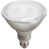 Satco 23-watt CFL PAR38 Compact Floodlight - 23 W - 75 W Incandescent Equivalent Wattage - 120 V AC - 1100 lm - Spiral - T2 Size - White Light Color - E26 Base - 10000 Hour - 4400.3°F (2426.8°