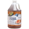 Zep Commercial Hardwood/Laminate Floor Cleaner - Liquid Solution - 1 gal (128 fl oz) - 4 / Carton - Blue