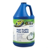 Zep Commercial High-Traffic Floor Finish - Liquid Solution - 1 gal (128 fl oz) - 4 / Carton - Clear, Green