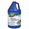 Zep Commercial Neutral Floor Cleaner Concentrate - Concentrate Liquid Solution - 1 gal (128 fl oz) - 4 / Carton - Blue