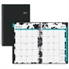 Blue Sky Weekly/Monthly Barcelona Planner - Julian - Weekly, Monthly, Daily - 1 Year - January till December - 1 Month, 1 Week Double Page Layout - Twin Wire - Multi-colored - Tabbed, Writable Surface