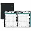 Blue Sky Monthly Barcelona Planner - Julian - Monthly, Daily - 1 Year - January till December - 1 Month Double Page Layout - Twin Wire - Multi-colored - Tabbed, Writable Surface, Notes Area, Reference
