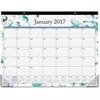 "Blue Sky Lindley Desk Pad - Julian - Monthly, Daily - 1 Year - January till December - 1 Month Single Page Layout - 22"" x 17"" - Desk Pad - Multicolor - Writable Surface, Notes Area, Appointment Schedu"