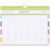 "Blue Sky Today's Teacher Stripes Academic Year 16/17 Monthly 11 x 8.75 Wall Calendar - Academic - Julian - Monthly, Daily - 1 Year - July 2016 till June 2017 - 1 Month Single Page Layout - 11"" x 75"" -"