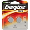 Energizer 2025 3V Watch/Electronic Batteries - CR2025 - Lithium (Li) - 3 V DC - 24 / Carton