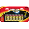 Eveready Gold Alkaline AAA Batteries - AAA - Alkaline - 336 / Carton