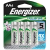 Energizer Recharge NiMH AA Batteries - AA - Nickel Metal Hydride (NiMH) - 96 / Carton