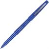 Integra Medium-point Pen - Medium Point Type - Blue Water Based Ink - Blue Barrel - 1 Dozen