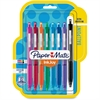 Paper Mate Inkjoy 300 RT Ballpoint Pens - 1 mm Point Size - Assorted - Assorted Barrel - 8 / Pack