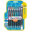 Paper Mate InkJoy 550 RT Pens - 1 mm Point Size - Assorted - 8 / Pack
