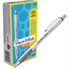 Paper Mate InkJoy 700 RT Ballpoint Pens - 0.7 mm Point Size - Black - White Barrel - 1 Dozen