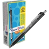 Paper Mate Inkjoy 300 RT Ballpoint Pens - 0.7 mm Point Size - Black - Black Barrel - 1 Dozen