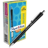 Paper Mate InkJoy 700 RT Ballpoint Pens - 1 mm Point Size - Black - Black Barrel - 1 Dozen