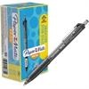 Paper Mate Inkjoy 300 RT Ballpoint Pens - 1 mm Point Size - Black - Black Barrel - 36 / Pack