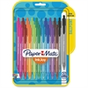 Paper Mate InkJoy 100 RT Pens - Medium Point Type - 1 mm Point Size - Assorted - Translucent Barrel - 20 / Pack