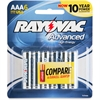 Rayovac Advanced High Energy AAA Batteries - AAA - Alkaline - 144 / Carton