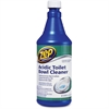 Zep Commercial Acidic Toilet Bowl Cleaner - 0.25 gal (32 fl oz) - Fresh Minty Pine Scent - 12 / Carton - Blue