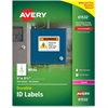 "Avery Durable ID Labels - Permanent Adhesive - ""5"" Width x 3.50"" Length - 4 / Sheet - Rectangle - Laser - White - Polyester - 200 / Box"