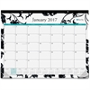 "Blue Sky Barcelona Desk Pad - Julian - Monthly, Daily - 1 Year - January till December - 1 Month Single Page Layout - 22"" x 17"" - Desk - Multicolor - Writable Surface, Notes Area, Appointment Schedule"
