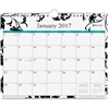 """Blue Sky Unruled Blocks Barcelona Wall Calendar - Julian - Monthly, Daily - 1 Year - January till December - 1 Month Single Page Layout - 11"""" x 8.75"""" - Wire Bound - Wall Mountable - Multicolor - Writa"""