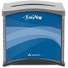 "EasyNap Tabletop Napkin Dispenser - Tall Fold Dispenser - 300 x Napkin - 5.9"" Height x 7.5"" Width x 6.6"" Depth - Black, Gray - See Through Window, Easy-to-load, Refillable"