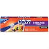 Hefty Slider Gallon-size Storage Bags - Clear - 135/Carton - Food