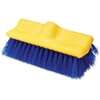 "Rubbermaid Commercial Plastic Block Floor Scrub - 2"" Length Bristles - 6 / Carton - Polypropylene Fiber, Tampico Fiber, Palmyra Bristle, Plastic Block - Blue, Yellow"