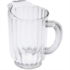 Rubbermaid Commercial 60-oz. Bouncer Pitcher - 1.9 quart Pitcher - Polycarbonate Plastic - Dishwasher Safe - Clear - 6 Piece(s) / Carton